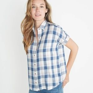 Marine Layer June Shortsleeve Button Down